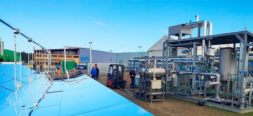 Evaporadores de aguas residuales industriales alimentados por energía solar