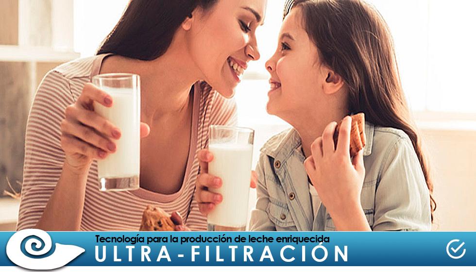Ultra-filtración: Tecnología para la producción de leche enriquecida y otros alimentos